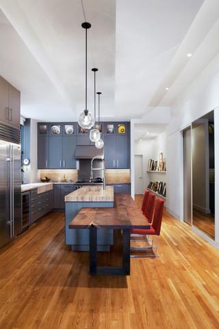 现代简约风格客厅单身公寓大气2014整体厨房效果图
