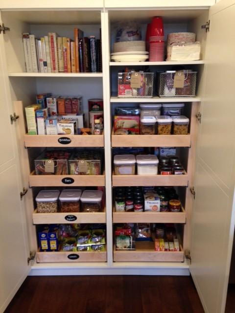 小橱柜大空间 各色实木质感橱柜设计欣赏