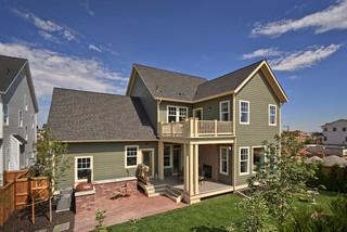混搭风格300平别墅舒适家庭庭院设计