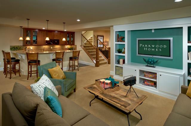 混搭风格三层连体别墅舒适小户型欧式客厅装修效果图