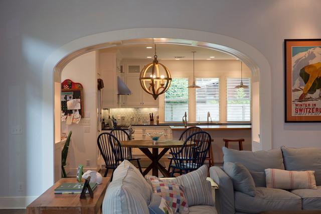 欧式风格家具2013别墅简洁卧室厨房餐厅一体改造