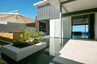 宜家风格一层别墅及时尚片阳台花园设计图