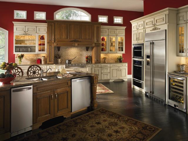 美式乡村风格客厅三层小别墅简单温馨咖啡色装修效果图高清图片