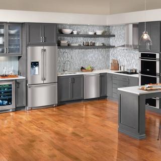 新古典风格客厅三层双拼别墅实用卧室灰色窗帘装修效果图