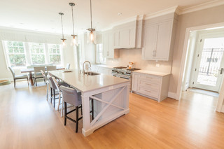 现代北欧风格一层别墅及时尚卧室白色客厅装修效果图