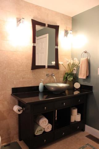 现代中式风格小户型公寓豪华欧式客厅4个平米的小卫生间效果图