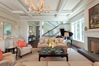 美式风格300平别墅梦幻家具2013家装客厅设计图