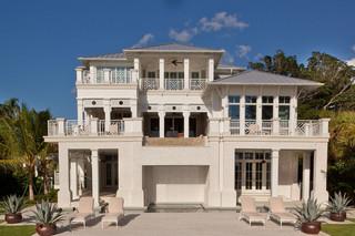 现代美式风格一层别墅梦幻家具工作区设计图