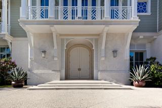 现代美式风格200平米别墅梦幻家具门厅柜设计