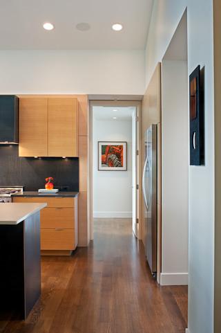 现代简约风格卧室三层双拼别墅温馨装饰办公室过道设计图