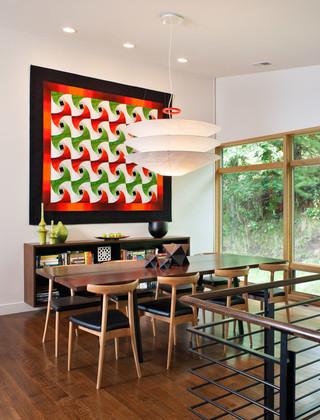 现代简约风格客厅一层别墅及温馨厨房和餐厅效果图