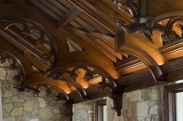 新古典风格200平米别墅奢华家具大理石背景墙装修图片