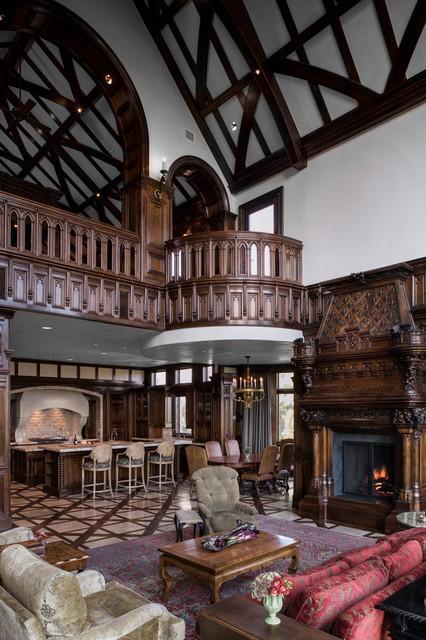 新古典风格卧室一层半小别墅欧式奢华简欧式客厅装修