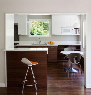 新古典风格客厅一层半小别墅时尚家居2013餐厅装修效果图