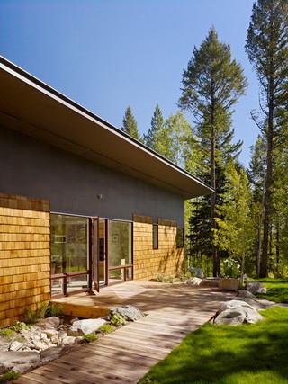 美式乡村风格客厅三层别墅卧室温馨家庭过道设计图纸