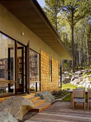 美式乡村风格客厅2013别墅温馨卧室露台花园效果图