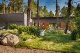 美式乡村风格客厅2013别墅简单温馨家庭庭院装修效果图
