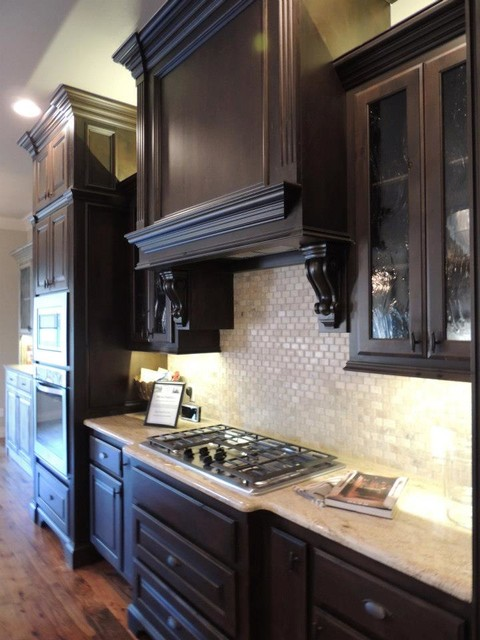 新古典风格卧室三层平顶别墅稳重整体厨房颜色装修图片
