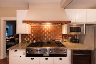 美式乡村风格客厅2层别墅浪漫卧室2013家装厨房装潢