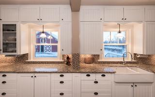 美式乡村风格客厅三层半别墅浪漫卧室2014整体厨房设计图纸