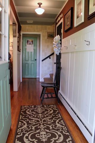美式风格卧室2013别墅及卧室温馨入户玄关装修效果图