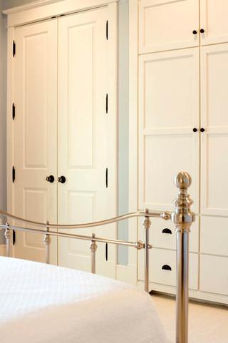 美式风格卧室三层双拼别墅浪漫卧室品牌整体衣柜设计图