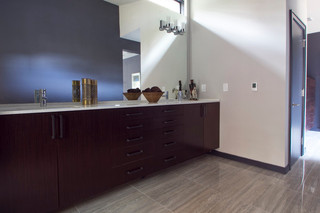 混搭风格三层别墅及艺术家具家庭卫生间隔断装修图片
