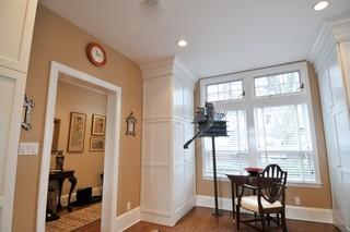 新古典风格客厅三层小别墅唯美主卫改衣帽间效果图