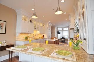 新古典风格2014年别墅唯美家庭餐桌图片