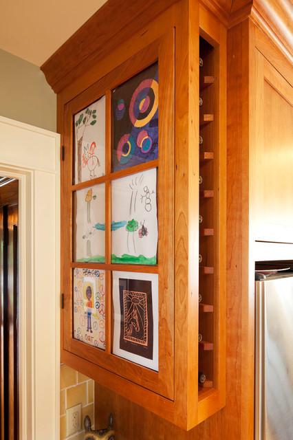 美式乡村风格三层连体别墅温馨卧室橱柜效果图
