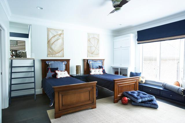 美式乡村风格客厅三层小别墅艺术4平米卧室装修效果图高清图片