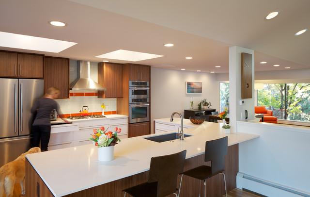 北欧风格卧室三层别墅及小清新2014厨房装修