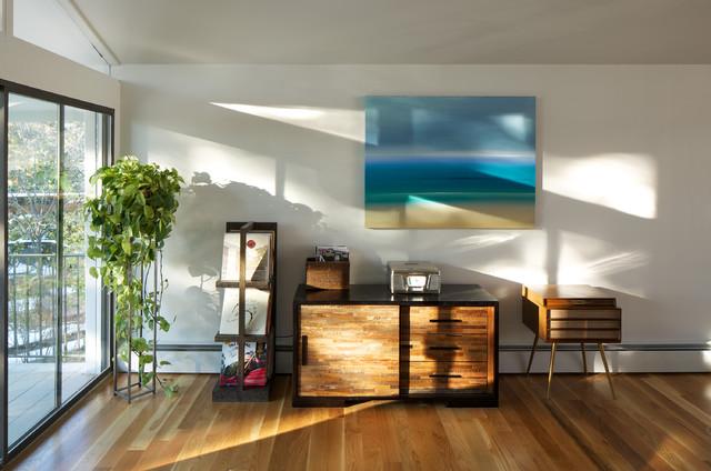 北欧风格一层别墅及小清新别墅阳光房设计图