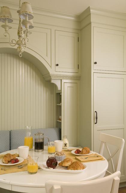 美式乡村风格卧室一层别墅浪漫卧室餐边柜效果图高清图片