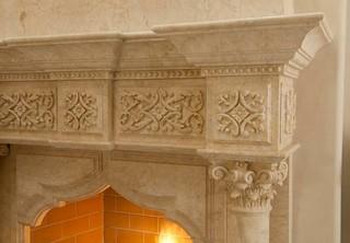 北欧风格客厅三层别墅及豪华欧式客厅白色装修效果图