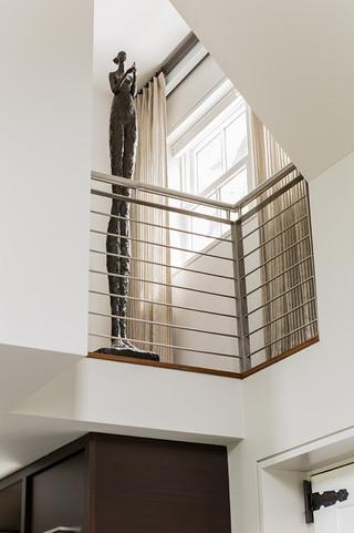 北欧风格200平米别墅现代时尚室内窗户效果图