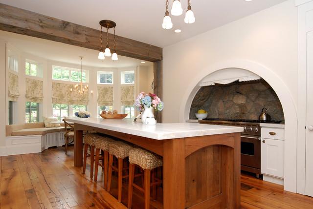 现代简约风格一层别墅舒适白色家具2013整体厨房效果图