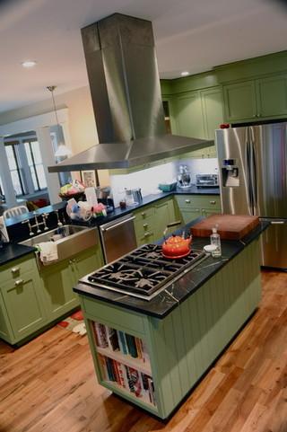 宜家风格客厅一层半别墅简单温馨2014整体厨房装修效果图