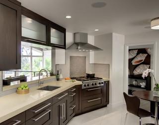 美式风格客厅2013别墅稳重咖啡色2013家装厨房设计