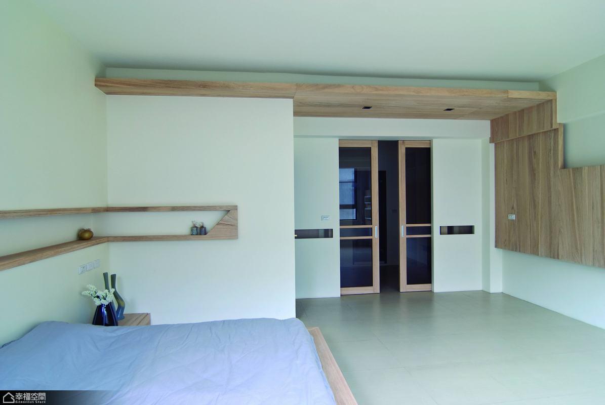 简约风格别墅简洁卧室效果图