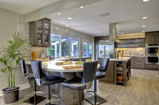 美式风格卧室复式室内稳重中餐厅装修效果图