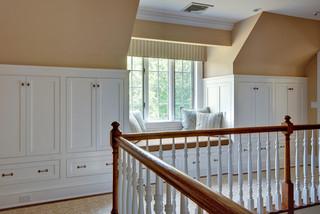 北欧风格客厅三层半别墅实用卧室白色卧室带飘窗的卧室装修效果图