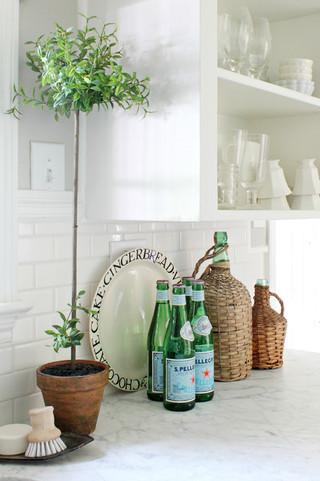 欧式田园风格浪漫卧室白色卧室室内植物效果图