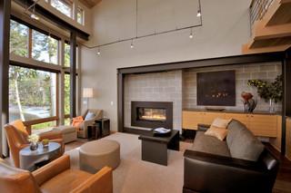 loft风格客厅海边别墅浪漫卧室小客厅沙发装修图片