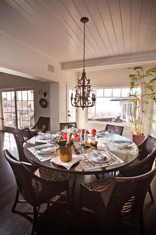 地中海风格室内浪漫卧室白色欧式家装餐厅吊顶装潢