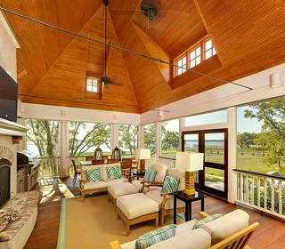 地中海风格室内温馨装饰白色欧式家庭客厅吊顶设计