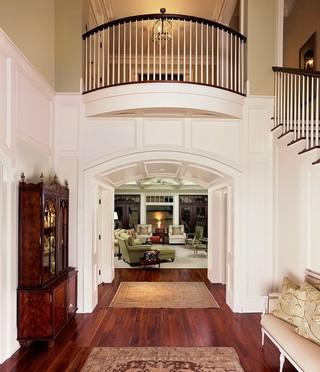地中海风格室内温馨客厅白色家具客厅过道吊顶装修图片