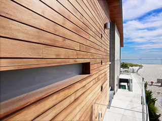 简约风格卧室海边别墅简约时尚原木色家居设计图