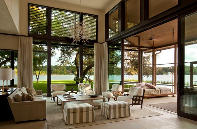 现代好看厨房世界海边时尚现代阳台别墅客厅风格效果图花园的别墅简约房迷你图片