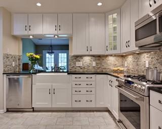 简约时尚灰色窗帘6平米厨房厨房吧台装修效果图